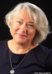 Grazyna porträtt svartvit