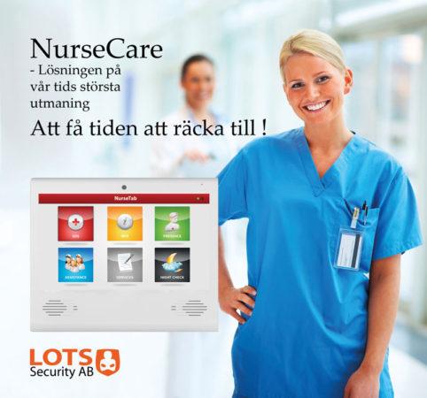NurseCare - vårdsystem i Almedalen