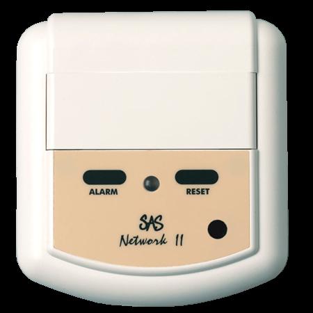 Red-204M CallPoint för inkoppling av externa larm, pterställning via magnetnyckel