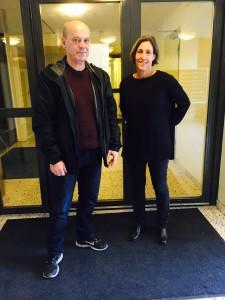 Stadshagens boende Lena Gummerus och Bengt Nygren